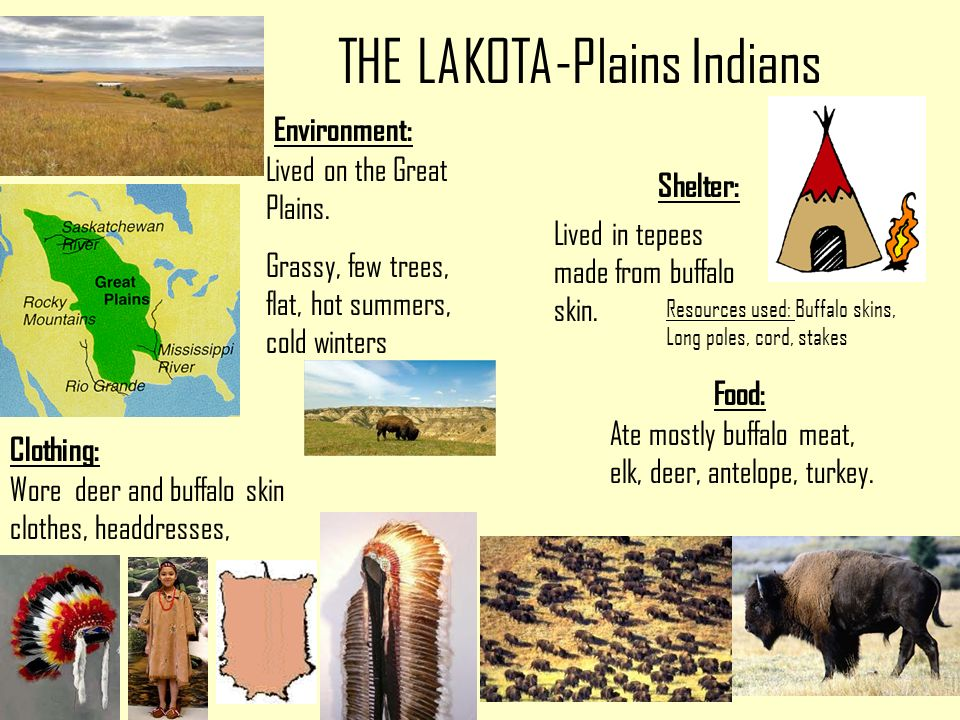 great plains indians environment