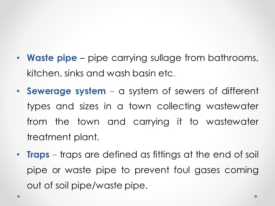 House Drainage System By- Prajyoti P  Upganlawar - ppt video