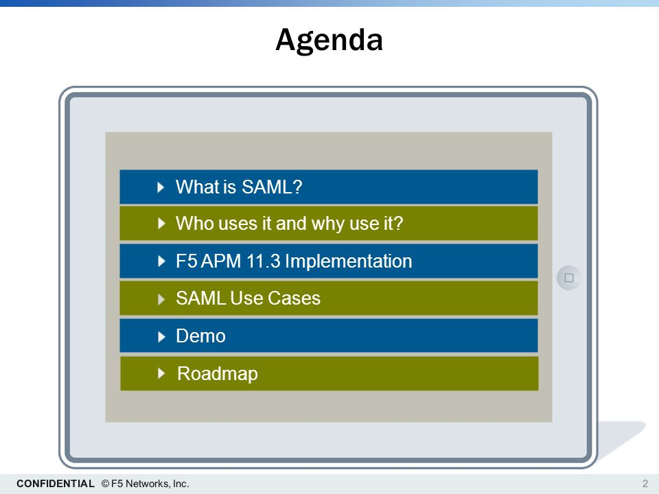 F5 APM & Security Assertion Markup Language 'sam-el' - ppt