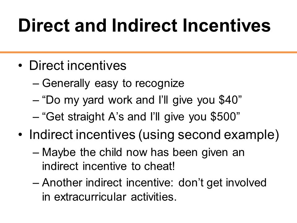 direct and indirect incentives Governments also use incentives defined by an economic development policy to promote job creation, wage and compensation growth, environmental goals, housing stock creation, or tax base expansion however, economic development projects also have the potential to carry substantial risk and uncertainty.