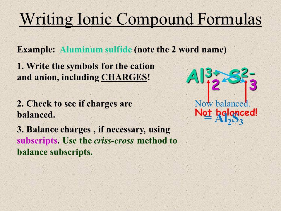 Aluminum Sulfide Formula