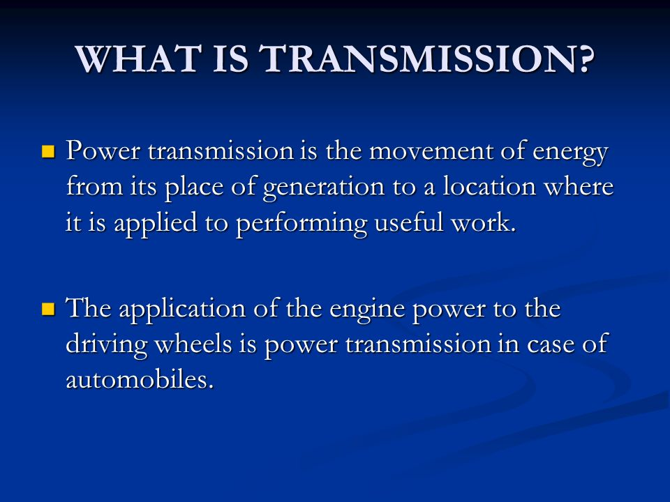 What Is Transmission >> Dual Clutch Transmission Ppt Video Online Download