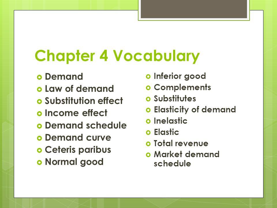 Chapter 1 Vocabulary Need Want Scarcity Economics Entrepreneur