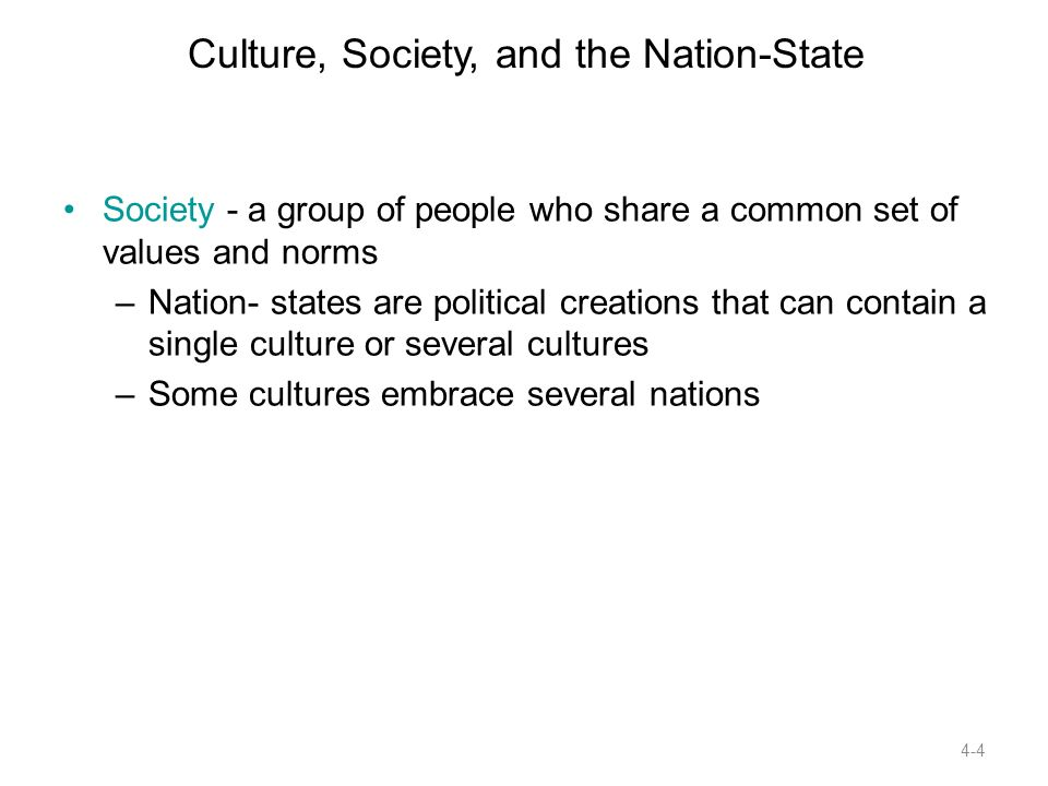 difference between culture and society