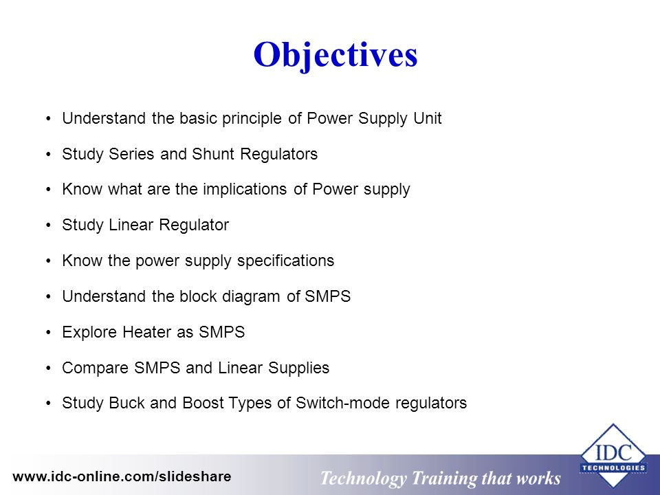 Power Electronics And Switch Mode Power Supply Ppt Video Online