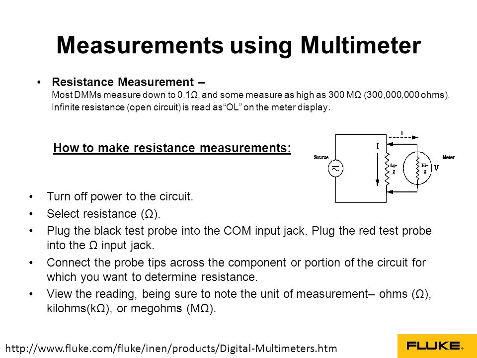 Digital Multimeter – Basic Guide - ppt video online download
