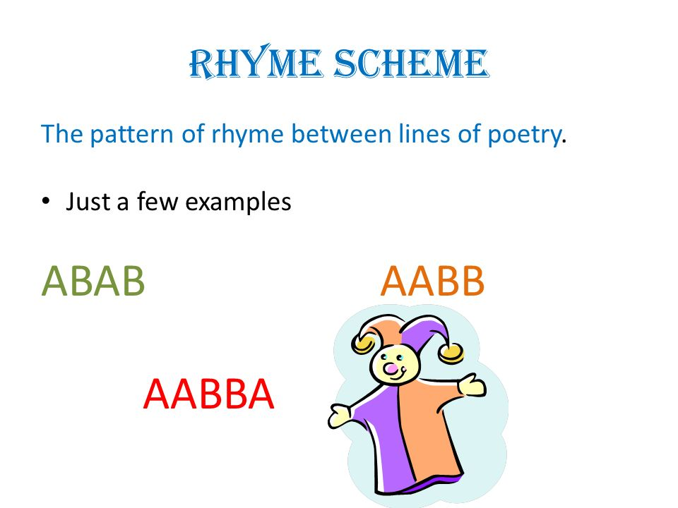 How to write an abab poem