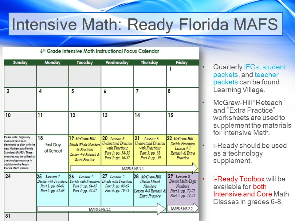 Middle Grades Math Essentials ppt download