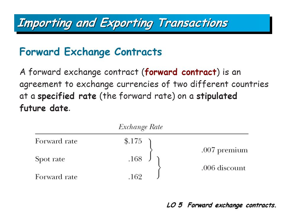 5 Accounting For Foreign Currency Transactions And Hedging Foreign