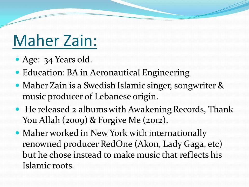 Sami Yusuf Vs  Maher Zain - ppt download