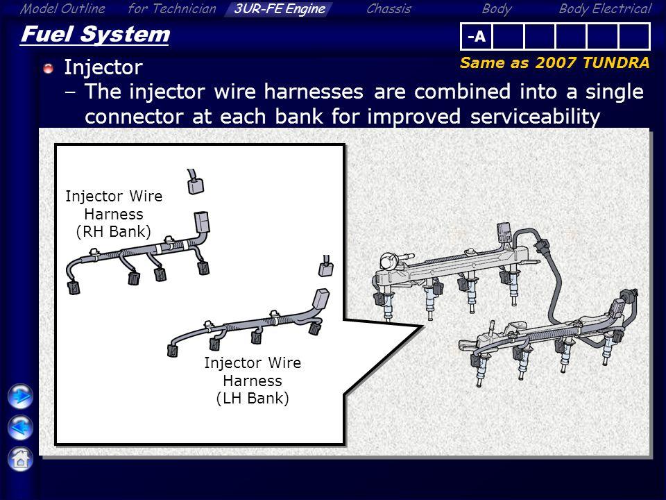 07 Tundra Fuel Pump Wire Harness - Wiring Diagram Schematics on