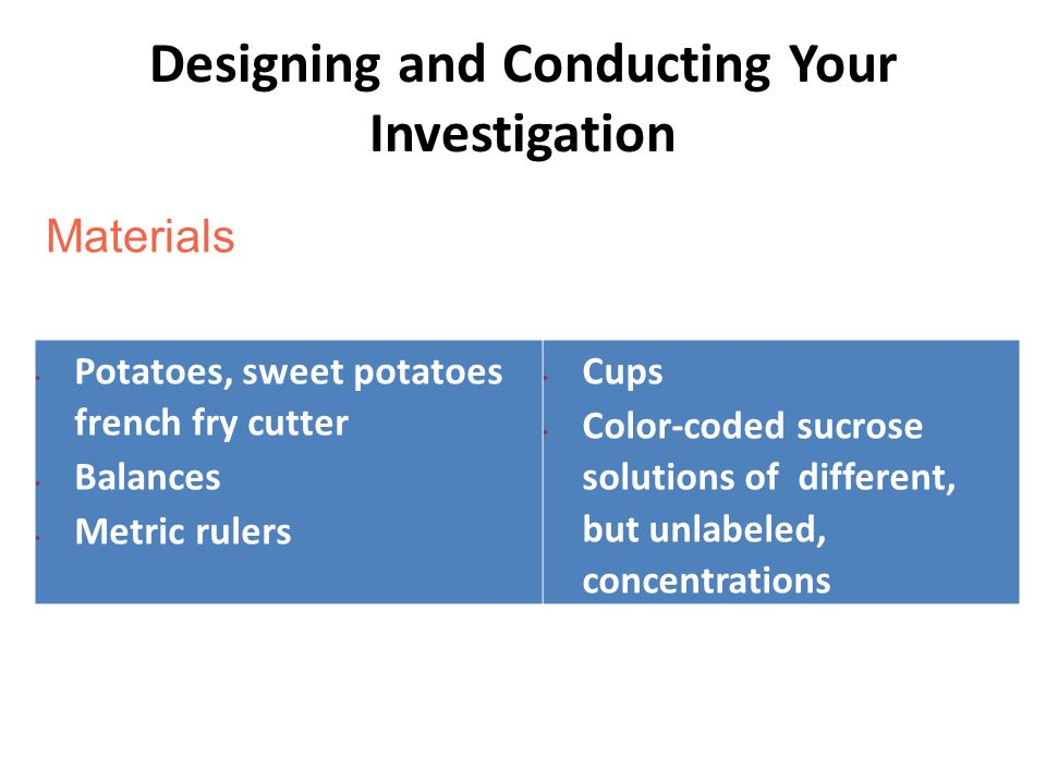 Lab 3C: Observing Osmosis in Living Cells - ppt download