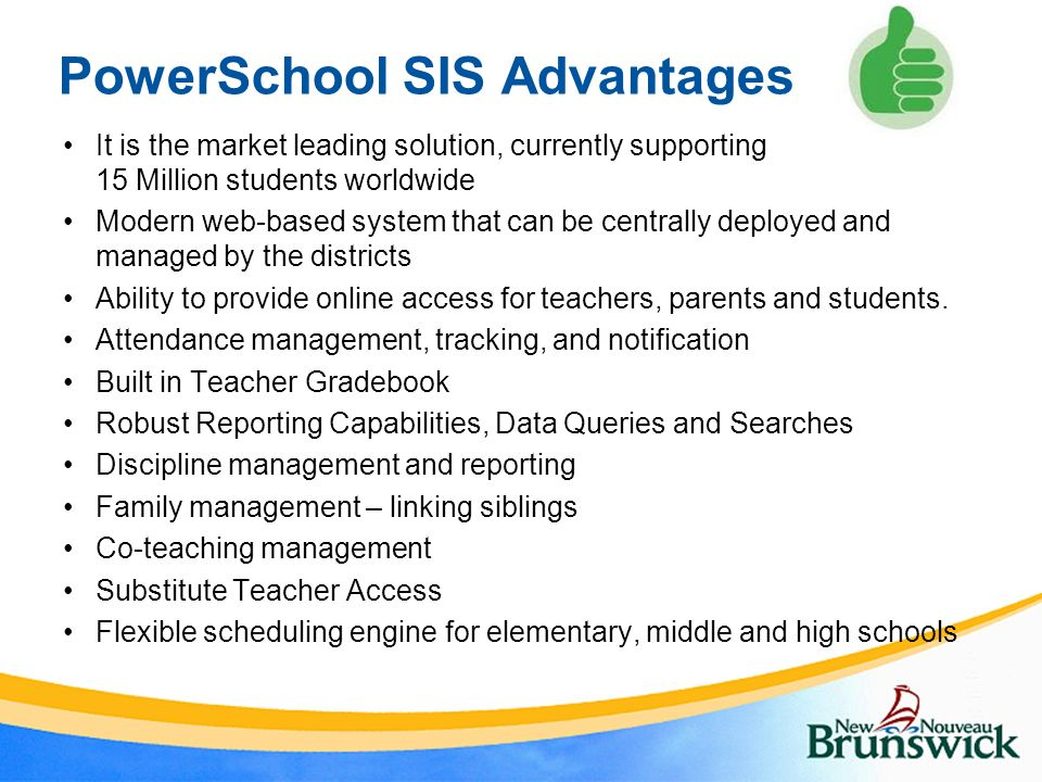 PowerSchool Student Information System Project
