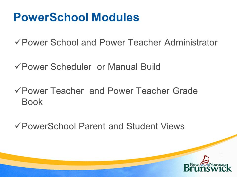powerschool student information system project implementation ppt
