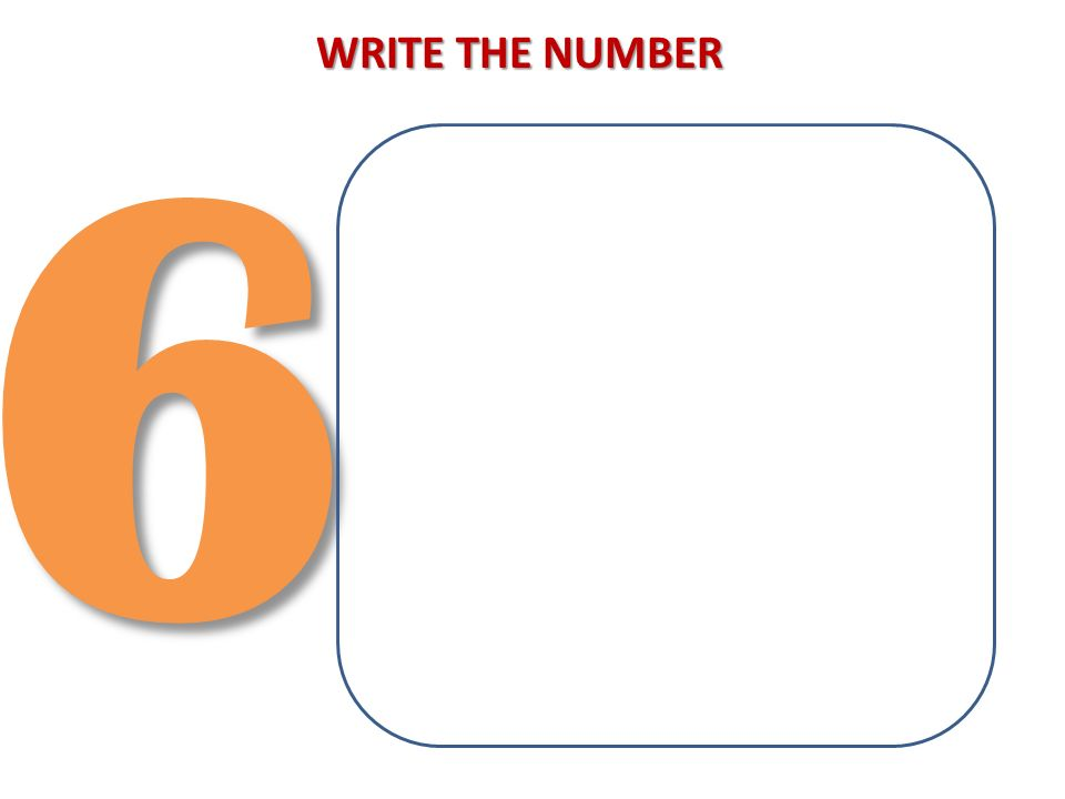 63 WRITE THE NUMBER