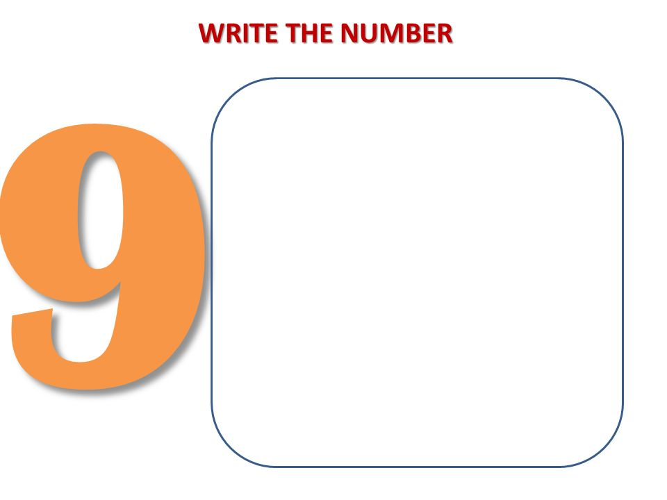 93 WRITE THE NUMBER