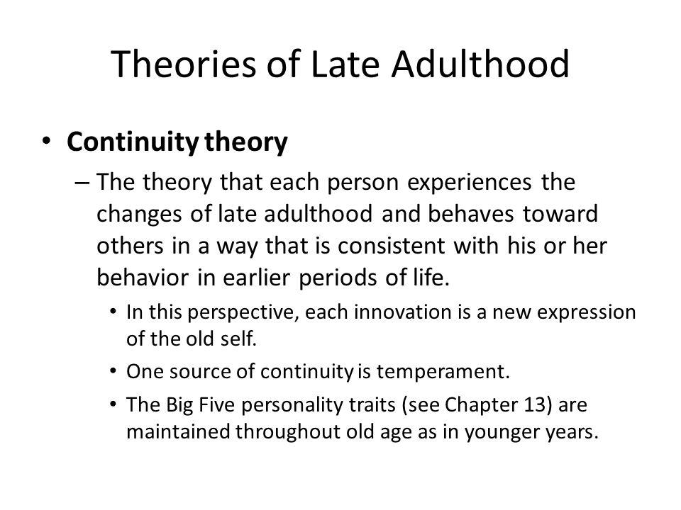 psychology 2314 chapter 15 late adult psychosocial
