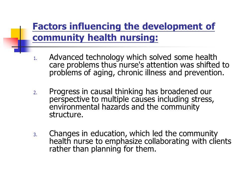 factors affecting community development