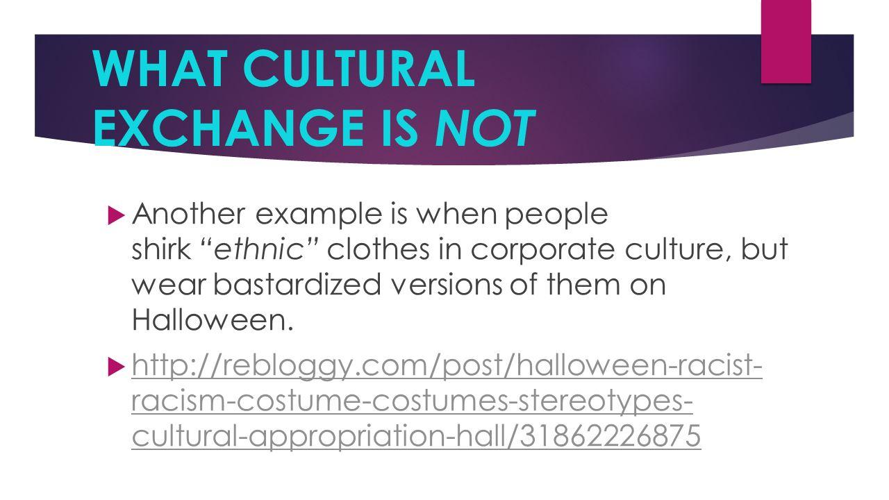 Cultural component | spirit exchange.