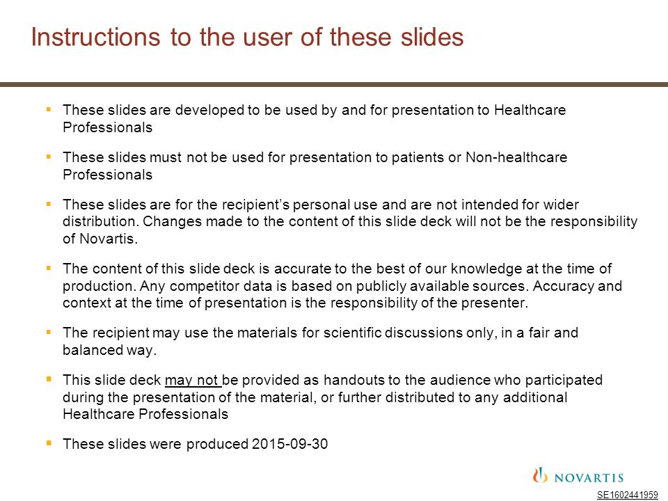 Instructions To The User Of These Slides Ppt Download