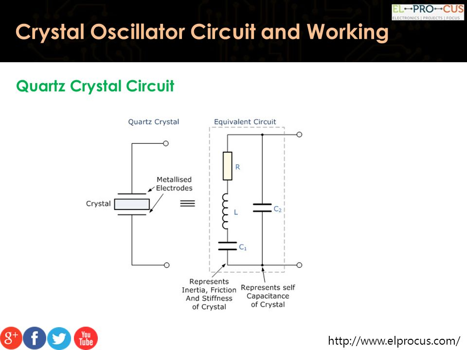 Crystal Oscillator Circuit And Its Working Ppt Video Online Download