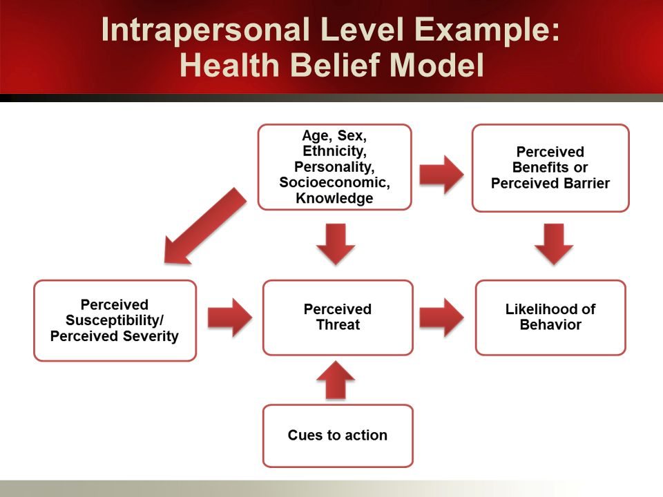 Theoretical Models In Behavioral Science Ppt Download