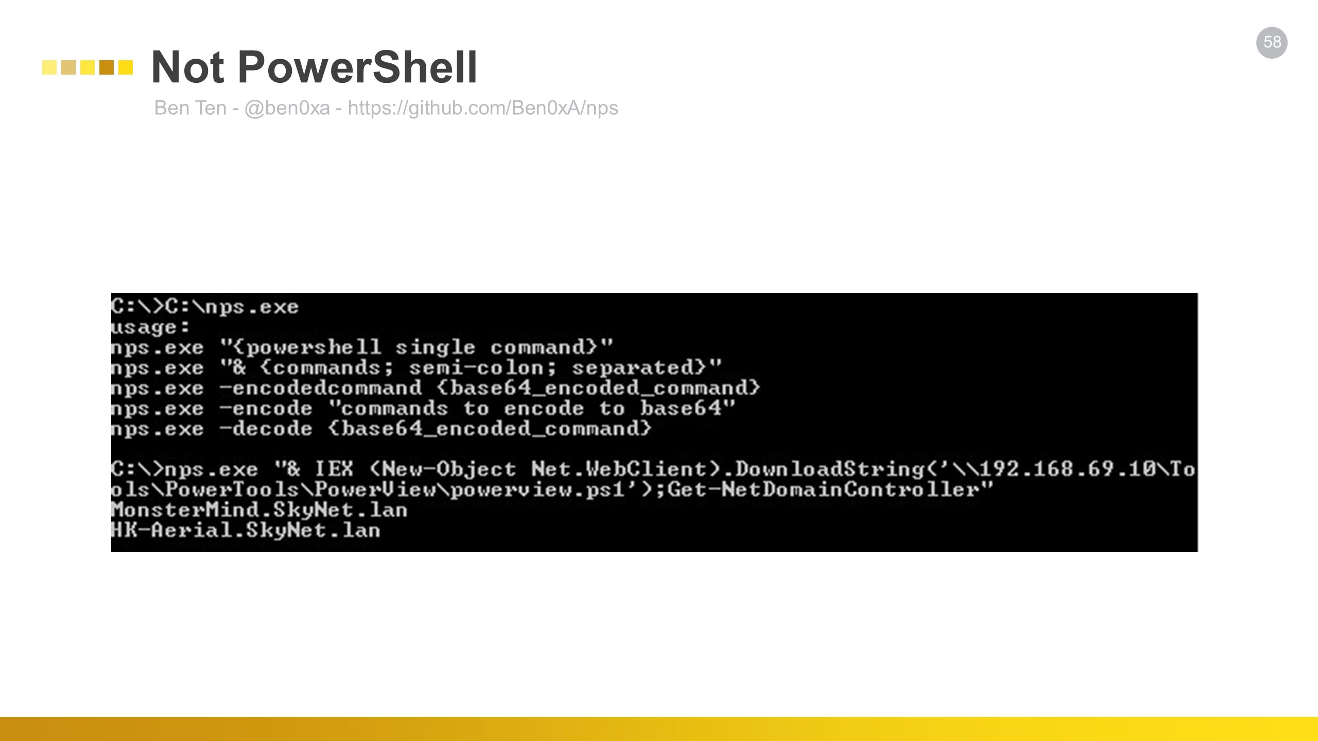 PowerShell for Cyber Warriors - ppt download