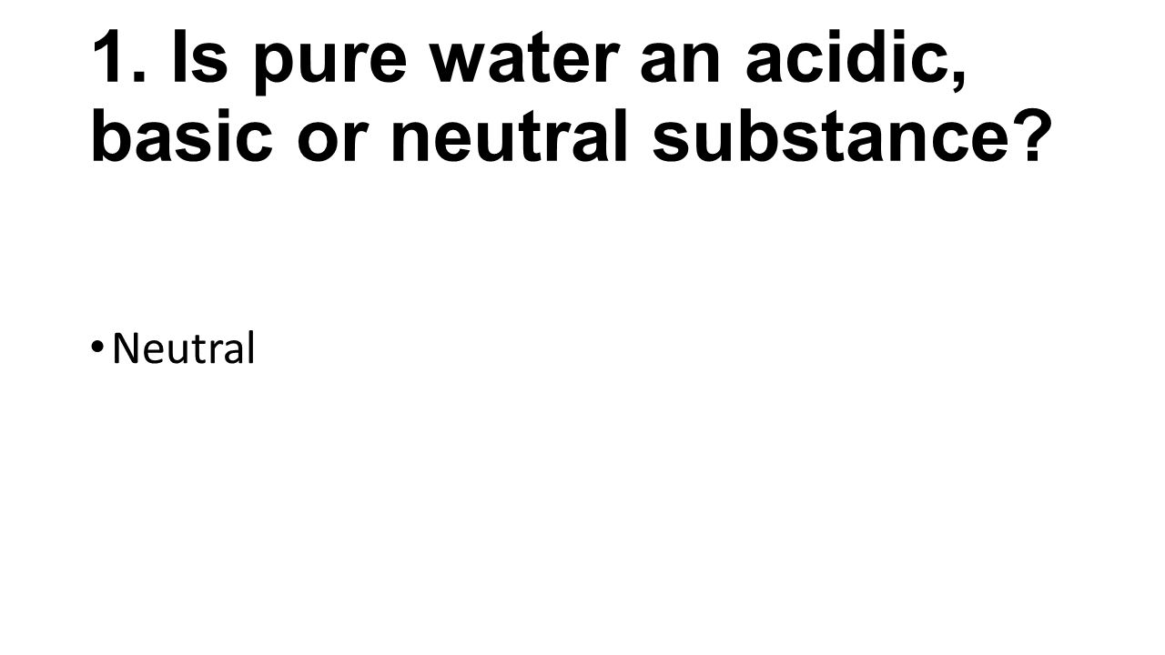 Strength of Acids and Bases - ppt video online download