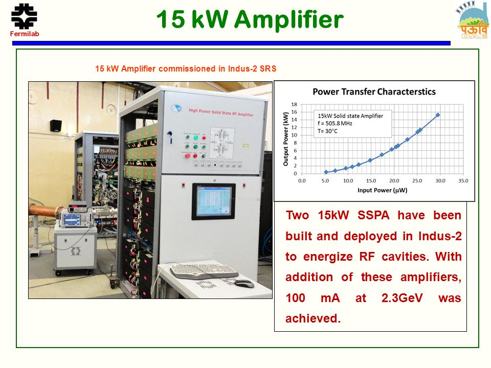650 MHz Solid State RF Power development at RRCAT - ppt