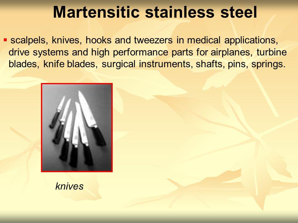 martensitic stainless steel properties pdf