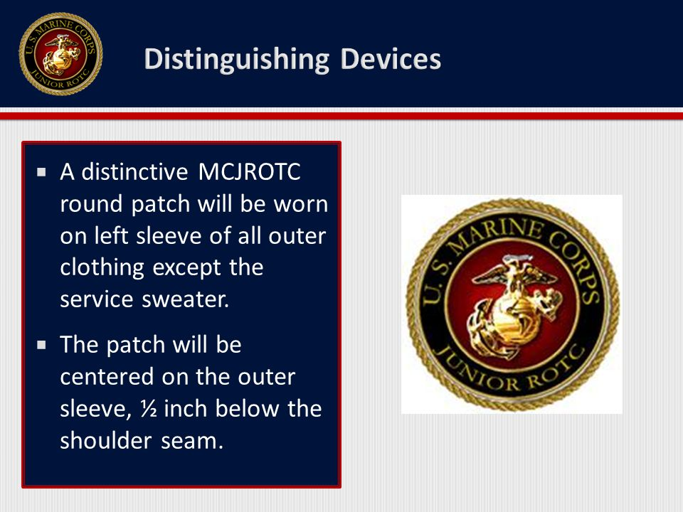 Introduction to MCJROTC Uniforms - ppt video online download