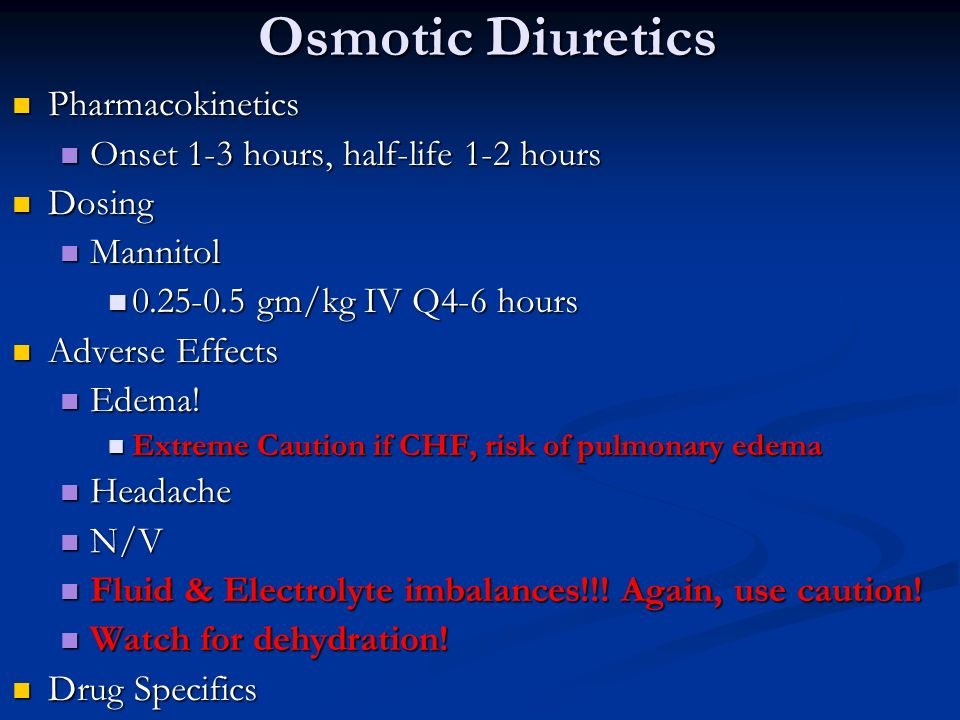 Diuretics: drugs that affect the renal system - ppt video