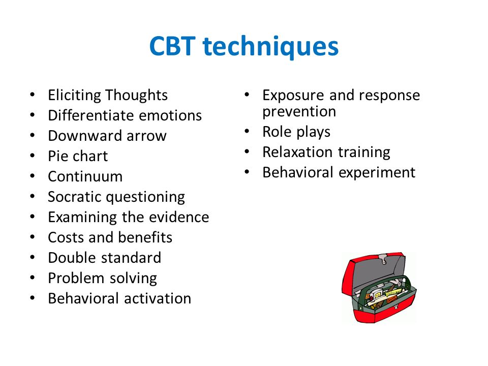 cognitive behavioral therapy techniques - 960×720