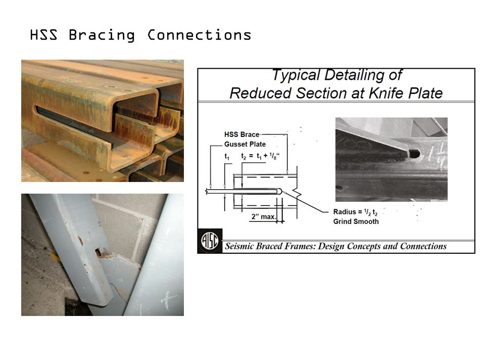 Design of Bracing Connections in Concentrically Braced Frames - ppt ...