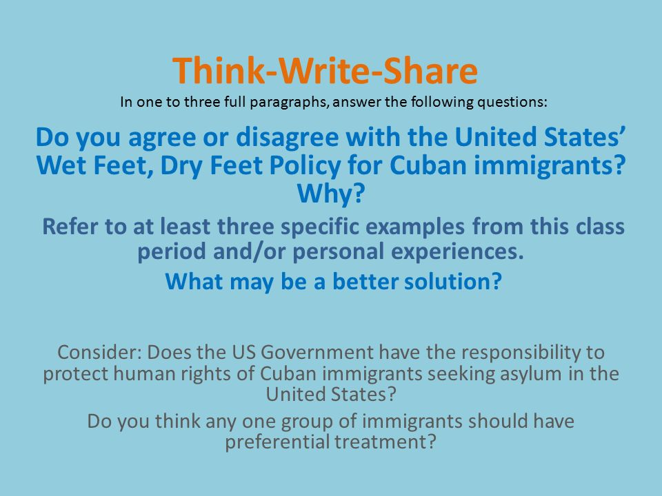 cuban migration into the us essay Cuban migration to the united states: policy and  cuban migration agreement,  principles into the ina7 the legislative debate leading up to its enactment.