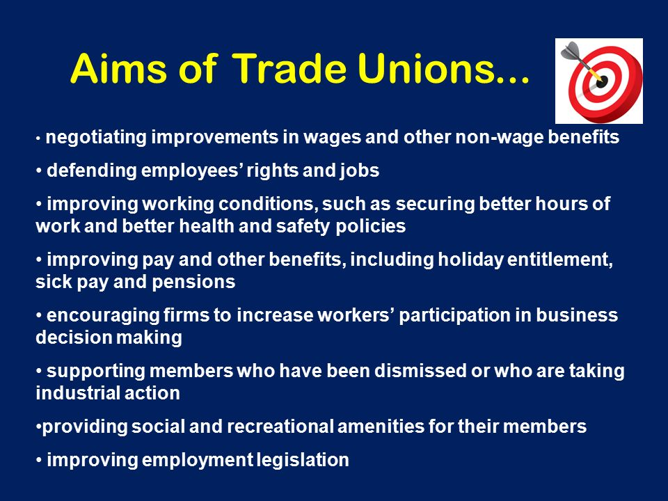 cons of trade unions
