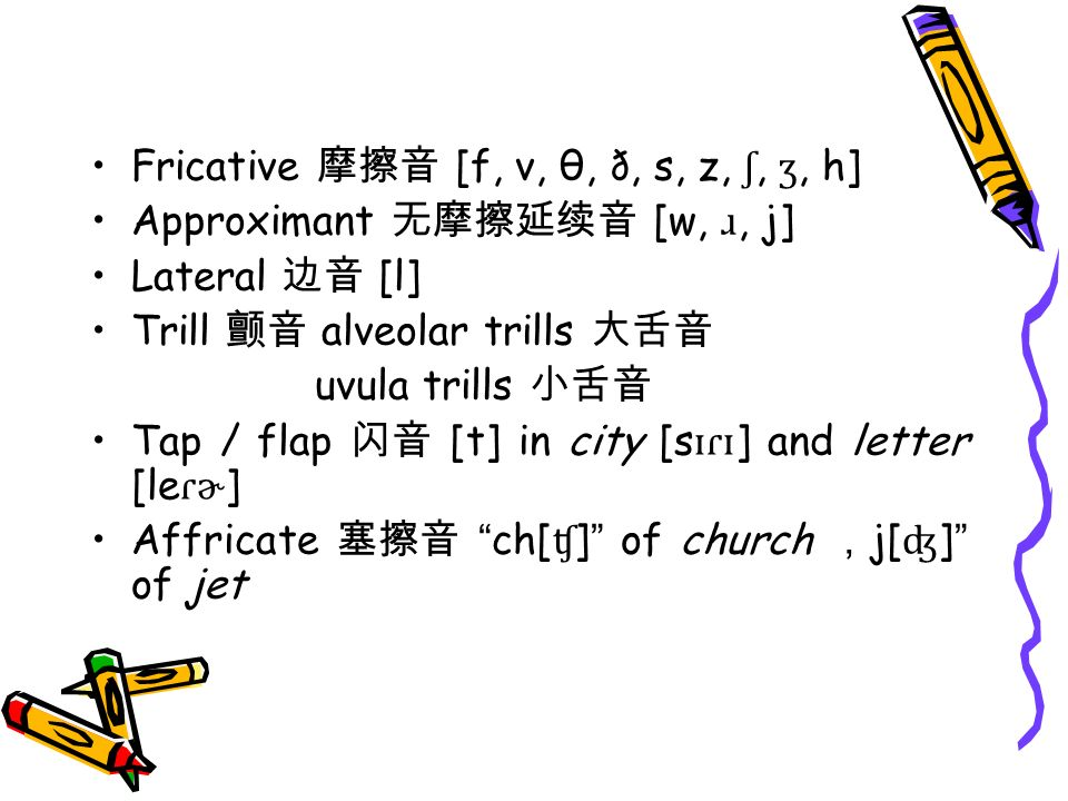 Lecture 3 Phonetics 语音学  - ppt video online download