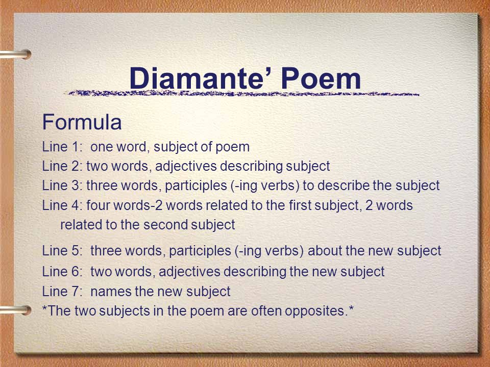 Types Of Poetry Ppt Video Online Download