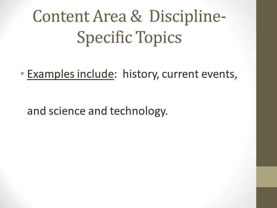 current argumentative topics