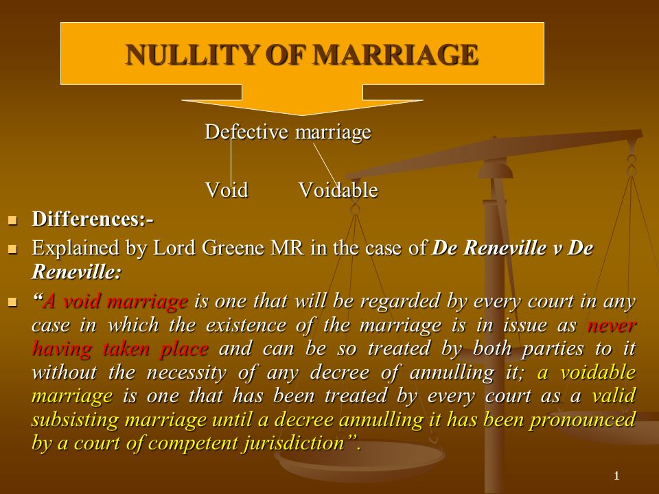 voidable marriage definition