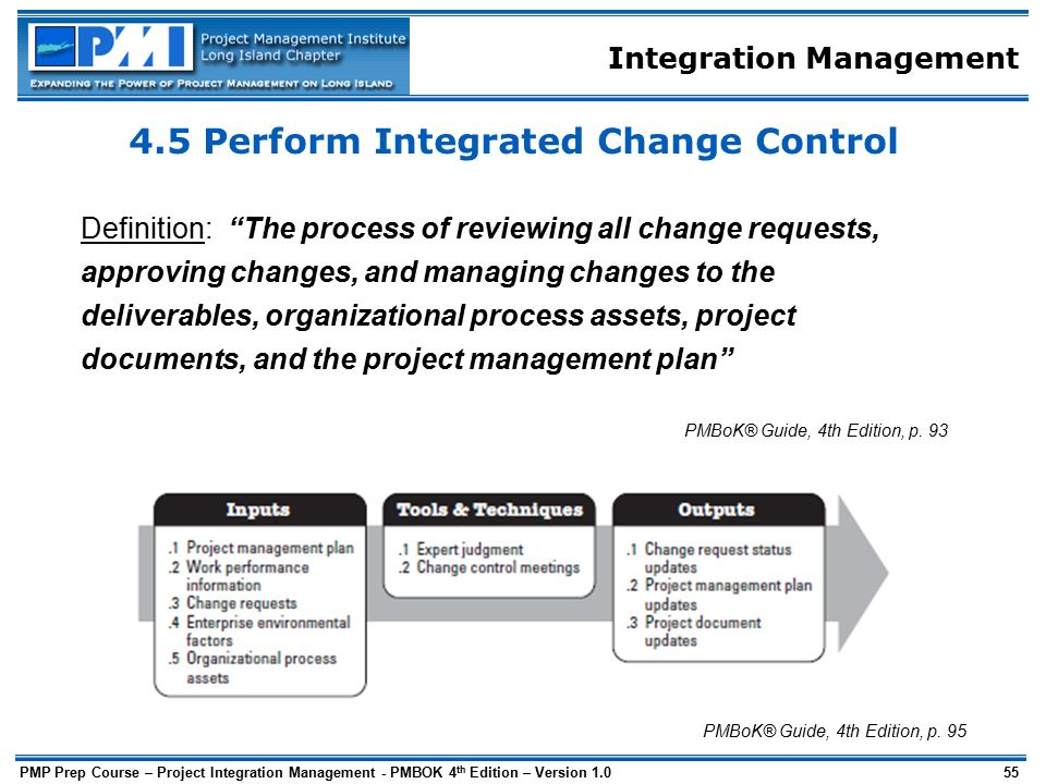 integration of project management and change management What is earned value management (evm) the basic concept of evm is more than a unique project management process or technique it is an umbrella term for 32 guidelines that define a set of requirements that a contractor's management system must meet.