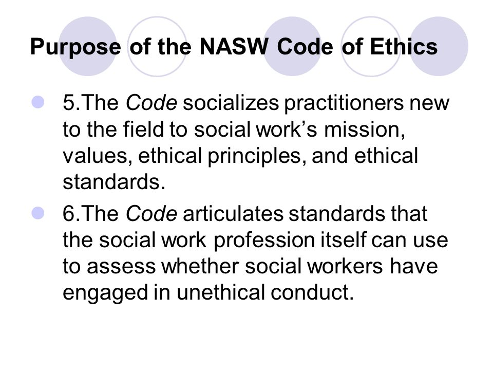 nasw code of ethics social justice