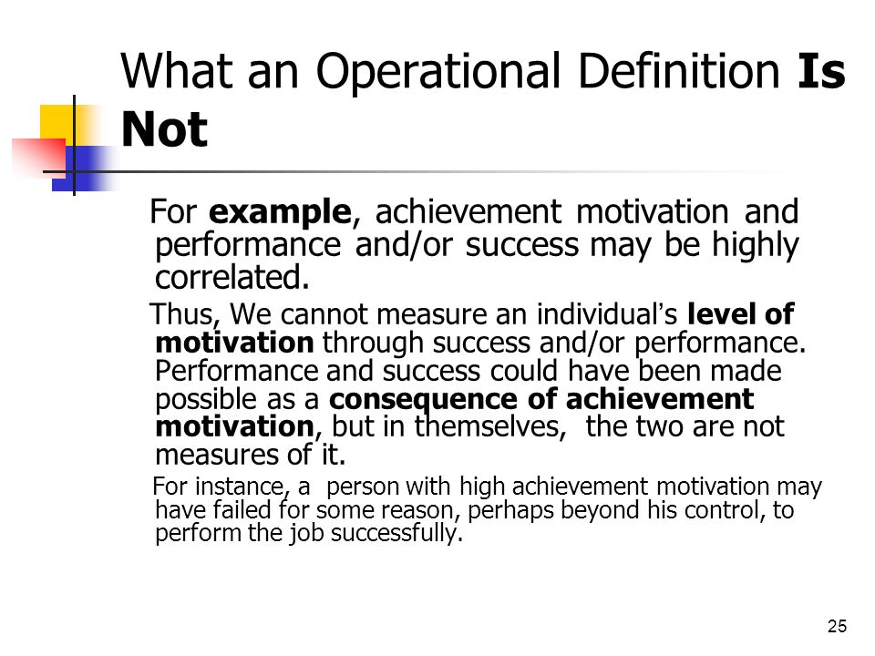 Example Of Operational Definition Choice Image Example Cover