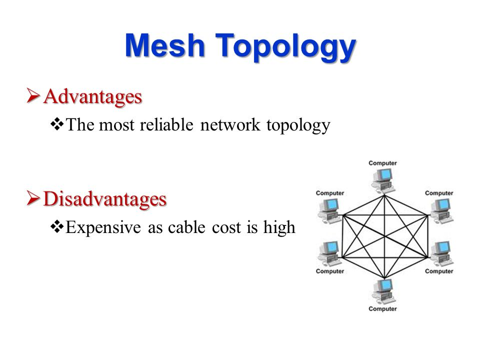 star network topology advantages and disadvantages