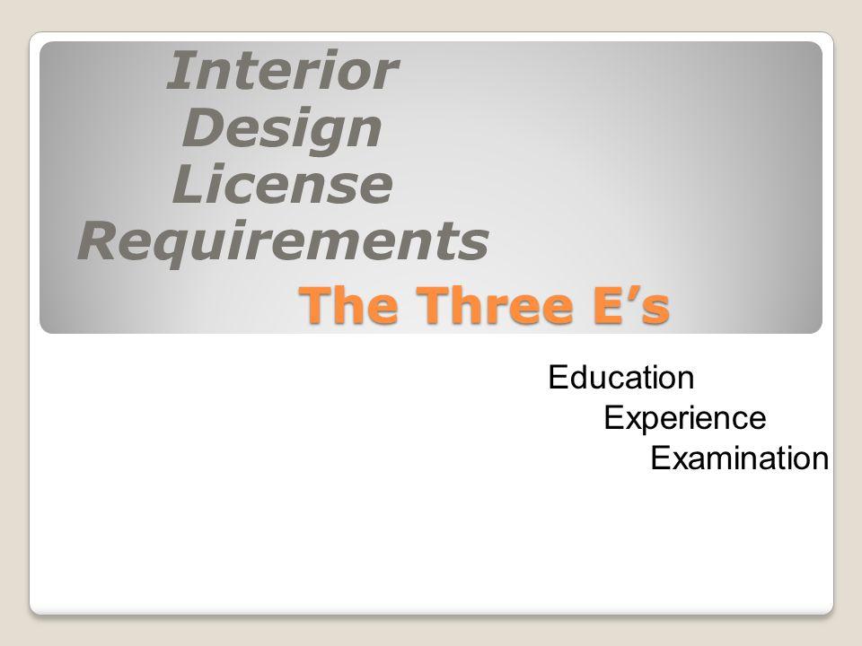 Interior Design License Requirements Amazing Pictures