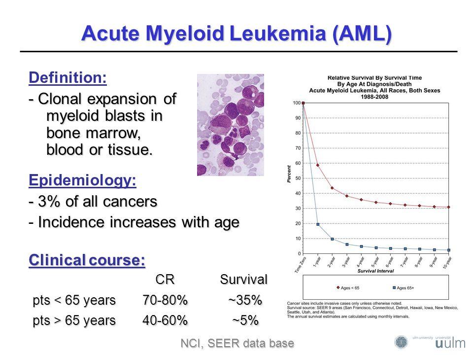 acute myeloid leukemia leads the way in molecular cancer geneticsacute myeloid leukemia (aml)