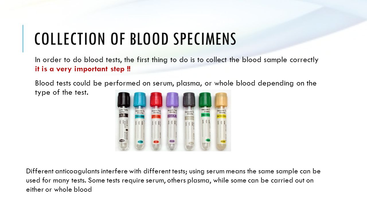 Introduction and Separation of Plasma and Serum from Whole