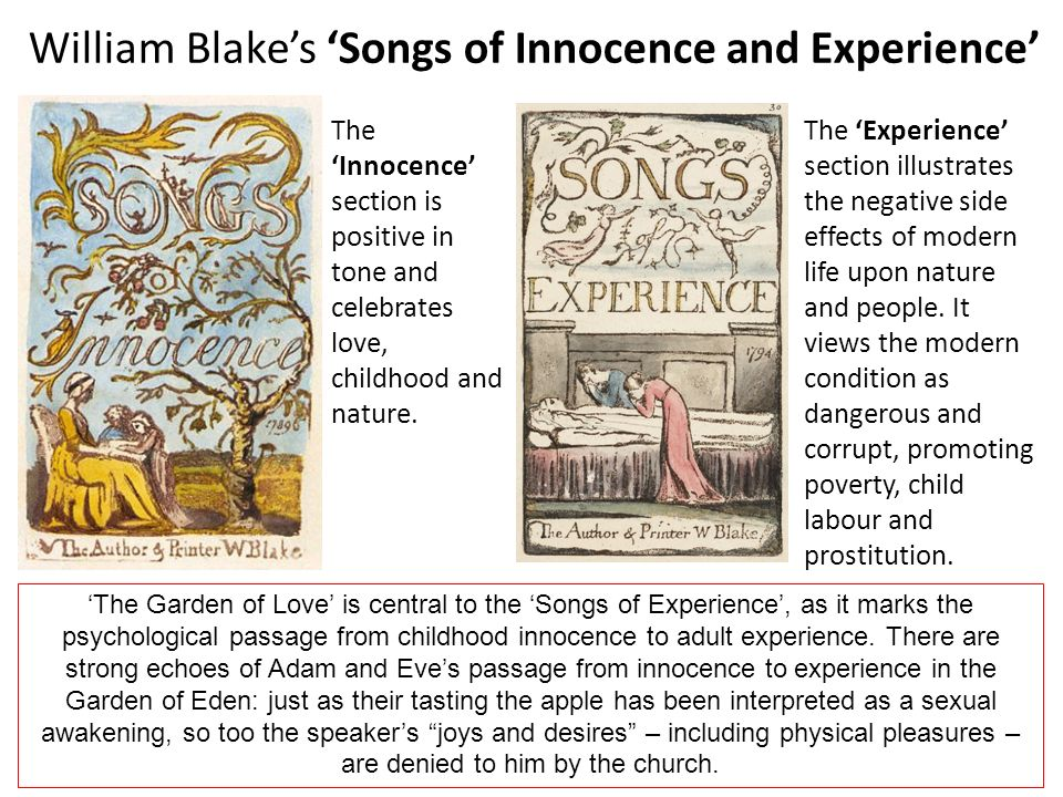 the garden of love william blake analysis