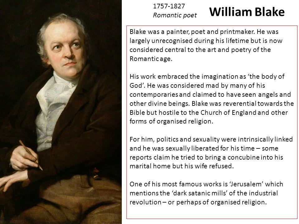 william blake romantic poet