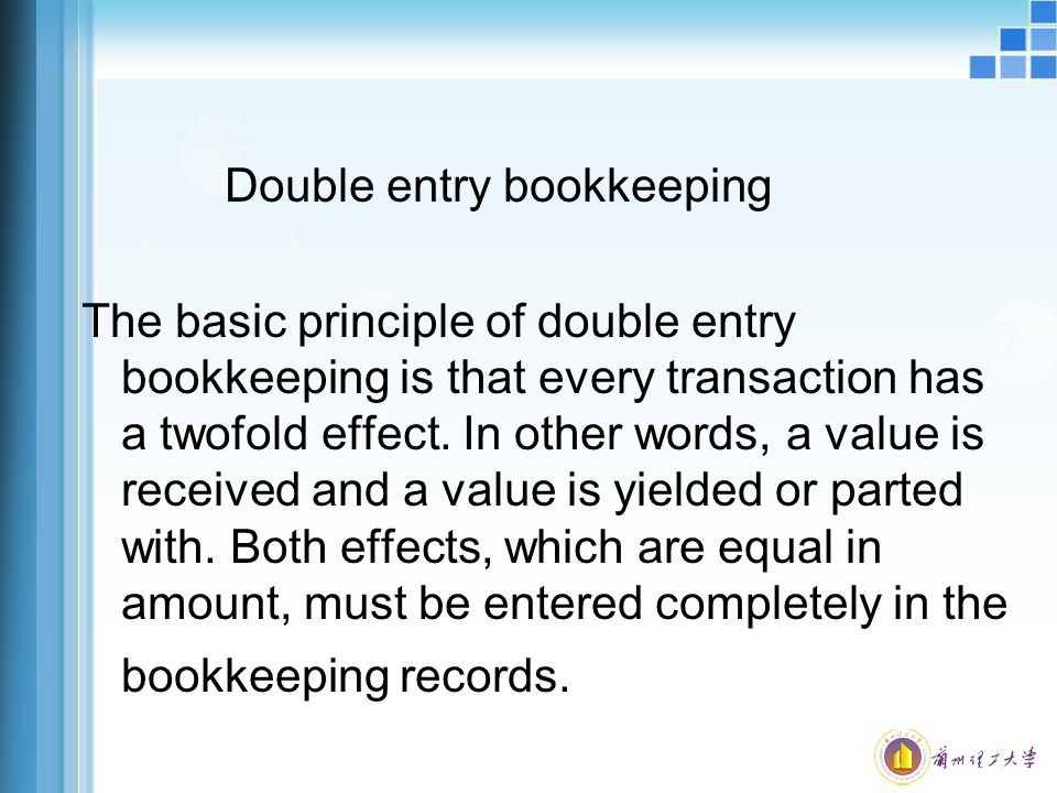 bookkeeping records